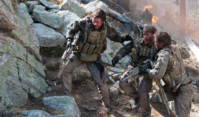 While the film is far better Lone Survivor Movie Filming