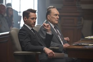 Robert Downey Jr. and Robert Duvall play father and son in THE JUDGE. Photo courtesy of Warner Bros.