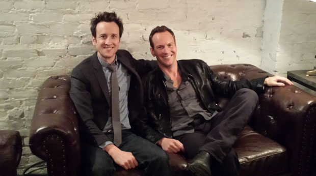 Jack Plotnick And Patrick Wilson At Our SXSW SPACE STATION 76 Press Junket Photo Courtesy
