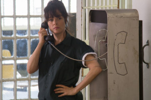 Parker Posey as Fay Grim in NED RIFLE. Photo courtesy of Possible Films.