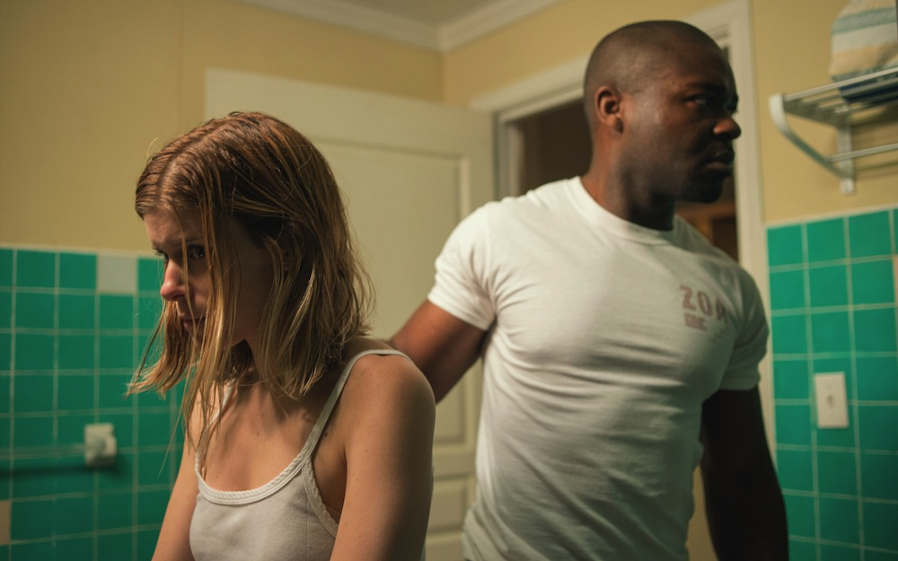 Kate Mara as Ashley Smith and David Oyelowo as Brian Nichols in CAPTIVE. Photo courtesy of Paramount Pictures.