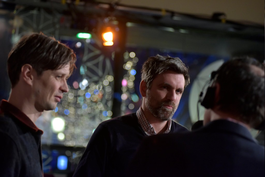 Cinematographer Sturla Brandth Grøvlen and director Sebastian Schipper.