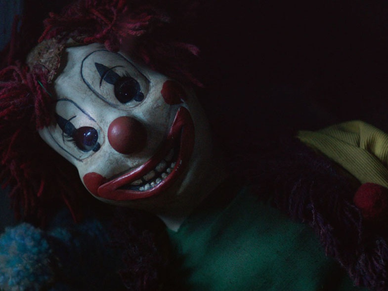 POLTERGEIST 2015's clown. Courtesy of 20th Century Fox.