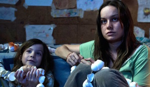 Jacob Tremblay and Brie Larson play mother and son in ROOM. Photo courtesy of A24.