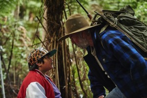 Julian Dennison is Ricky Baker, Sam Neill is Uncle Hec. Photo courtesy of The Orchard.