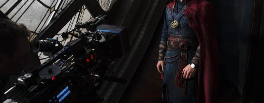 Benedict Cumberbatch is DOCTOR STRANGE. Courtesy of Marvel Studios.